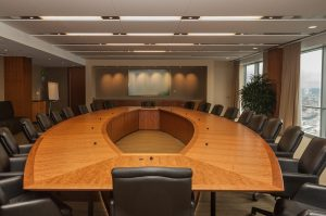 Checking for bugs in the boardroom, even more important than ordering lunch for the execs